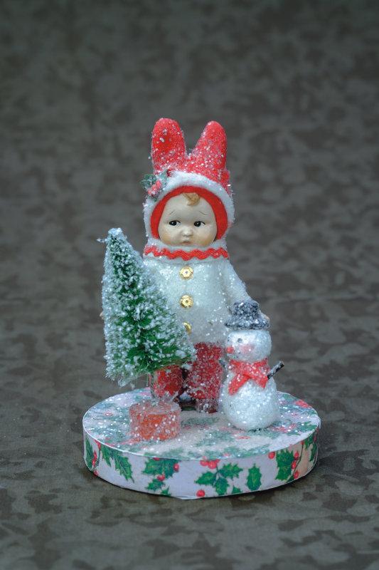 Olwen's Little Snowman