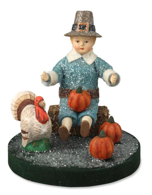 Pilgrim Harvest Boy