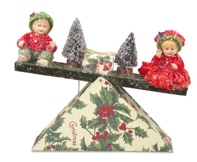 Christmas Teeter Totter