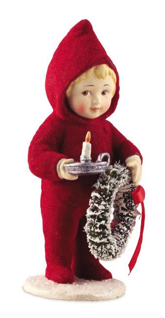 Girl in Red PJs